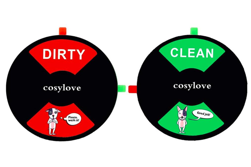 Imán magnético Dirty - Clean