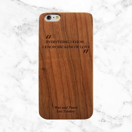 Funda Iphone Motivo Literato 08