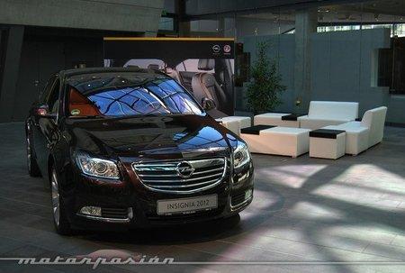 Opel Insignia 2012, presentación y prueba en Alemania (parte 1)