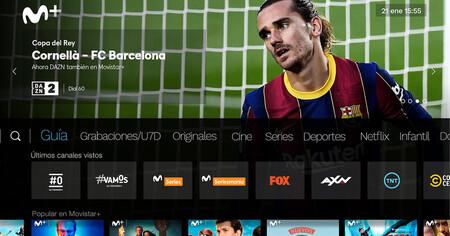 Movistar+ integra DAZN al completo: los clientes de Fusión ya pueden acceder a la app directamente