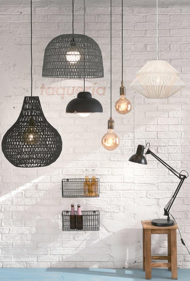 Trece lámparas por menos de 55 euros y de distintos estilos que puedes encontrar en Leroy Merlin