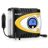 Oferta flash en Amazon: compresor portátil digital Suaoki B24A por 32,99 euros con envío gratis