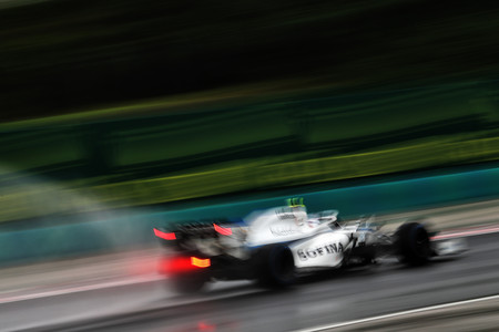 Latifi Hungria F1 2020