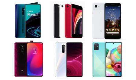 Los mejores móviles Android que te puedes comprar con lo que cuesta un iPhone SE 2020