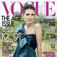 Winona Ryder para Vogue