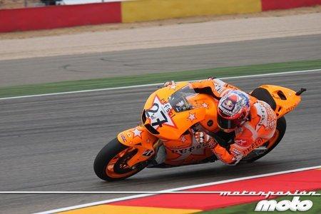 MotoGP Aragón 2011: Casey Stoner consigue una nueva victoria en una carrera con poquito que contar