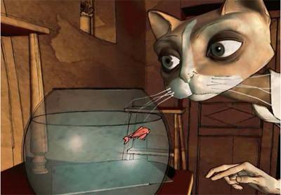 Riba: el gato que soñaba ser pianista