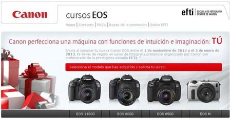Curso gratuito de fotografía con Canon