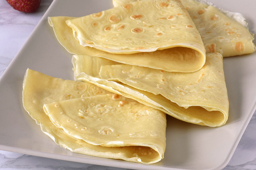 C mo hacer masa de crepes receta f cil y r pida 17 ideas dulces y salados - Hacer masa para crepes ...
