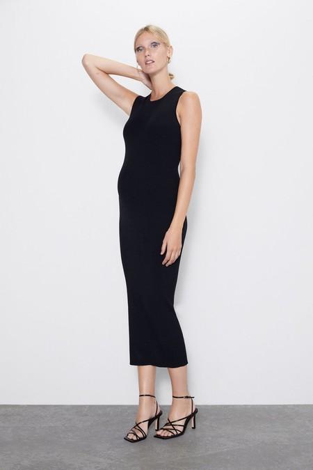 Vestido Negro Zara