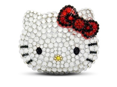 Reproductor MP3 de Hello Kitty con cristales de Swarovski