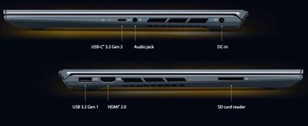 Asus Zenbook 15 Pro Puertos