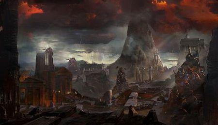 'God of War III'. Varios artworks para amenizar la espera