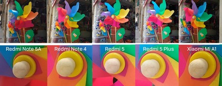 Colores Fotografia Xiaomi