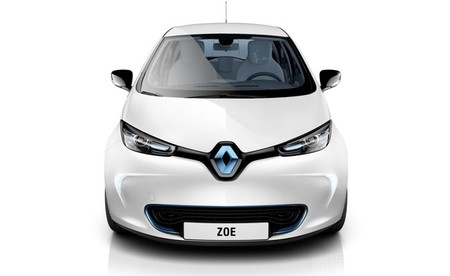 Renault ZOE blanco frontal