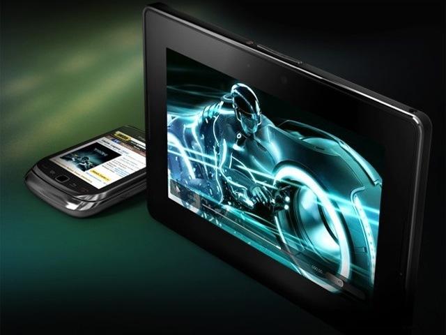 Foto de BlackBerry PlayBook, presentación oficial del tablet de RIM (2/11)