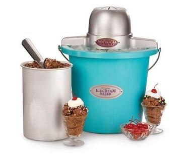 Heladera retro para los amantes de los helados tradicionales