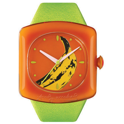 Reloj Banana, de Andy Warhol