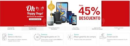 Phone House combate el 11-11 con los Oh Happy Days: descuentos en móviles y tablets