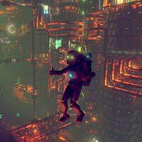 En algún lugar del universo de No Man's Sky, un jugador ha creado una base gigantesca inspirada en Rapture de BioShock