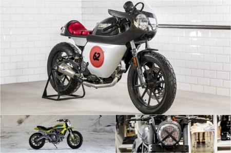 Estas tres preparaciones con base Ducati Scrambler van a dar mucho juego