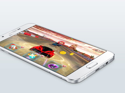 Samsung Galaxy A8, el teléfono más delgado de los coreanos