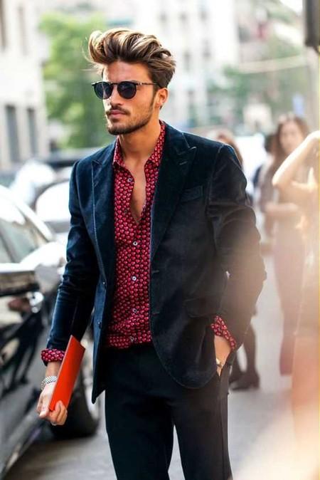 Trendencias Hombre Terciopelo Street Style 2018 11