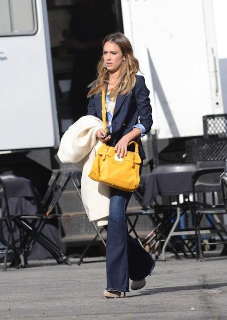 Copia el look de Jessica Alba para esta Primavera 2013