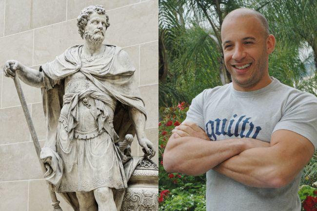 Aníbal y Vin Diesel