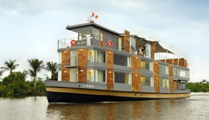 Crucero de lujo por la amazonia peruana