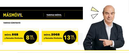 MásMóvil estrena tarifas sólo móvil de contrato: hasta 20 GB de datos y llamadas ilimitadas por 13,90 euros al mes