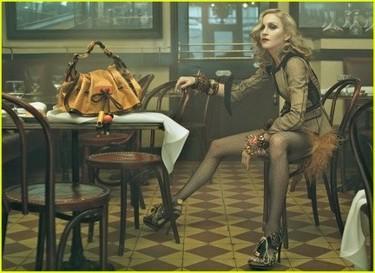 Primeras imágenes de Madonna para Vuitton