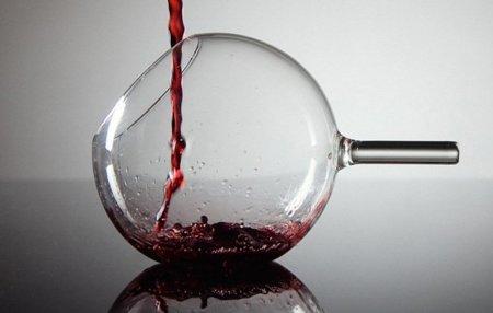 Copas de vino rEvolution de Jakobsen, una nueva forma de beber