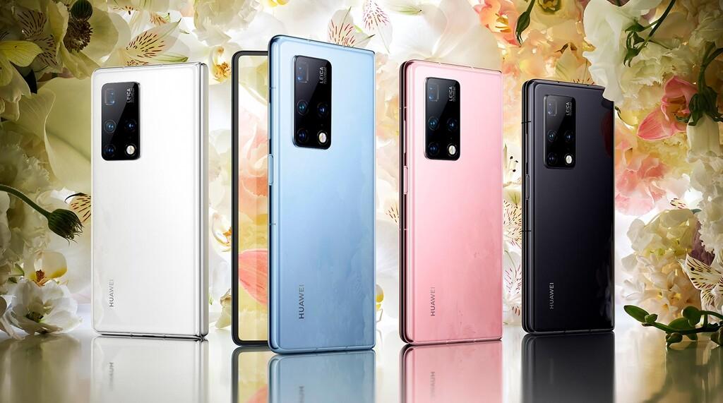 Huawei Mate X2, el reciente teléfono plegable tiene alguna segunda pantalla, mas cámaras y demasiada mas potencia