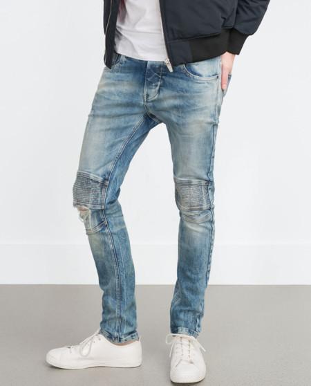 Desgastados y rotos, así se llevan los jeans en otoño de acuerdo a Zara
