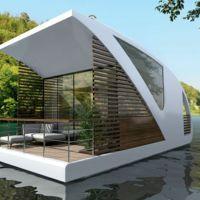 ¿Alojamientos acuáticos? este hotel y sus habitaciones que flotan lo harán posible