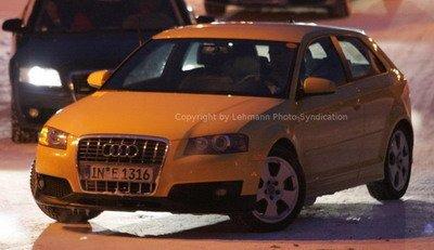 Primeras fotos del nuevo Audi S3 en la nieve