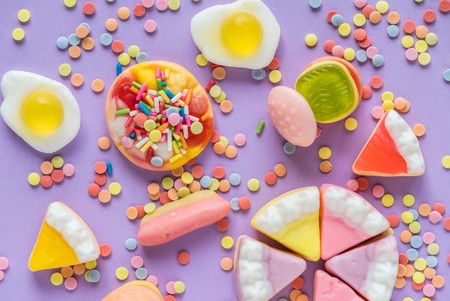 Background Bright Candies 1056562