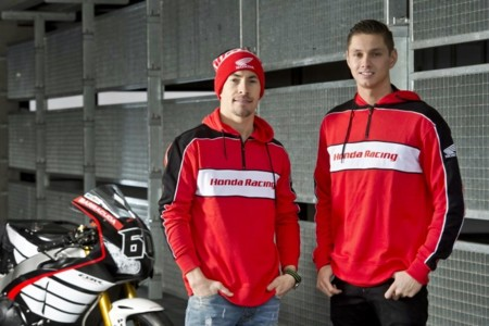 Dos vídeos: el rookie veterano y la promesa experimentada. Hayden y van der Mark preparan su pretemporada de Superbikes