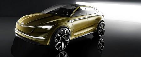 Škoda presentará el Škoda Vision E con 500 kms de autonomía NEDC en el Salón de Shanghái