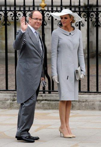 El look de Charlene Wittstock, la próxima novia real, en la Boda del príncipe Guillermo y Kate Middleton