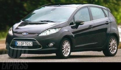 Nuevo Ford Fiesta por ordenador