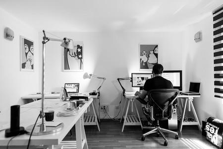 Workplace Desk Computer Indoor Office Work 932926
