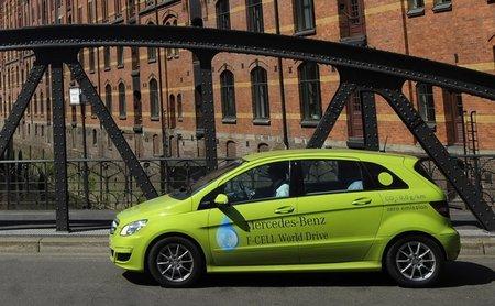 Mercedes-Benz ya ha completado la vuelta al mundo con sus modelos de hidrógeno