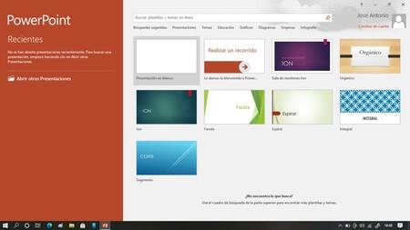 Grabar pantalla con PowerPoint