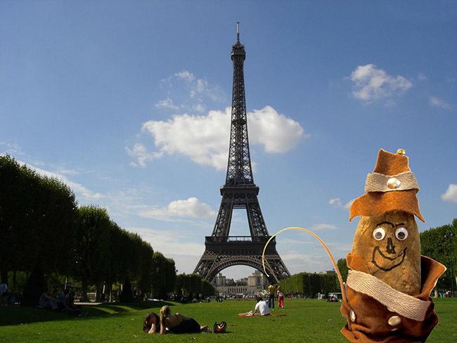 El boniato viajero en París