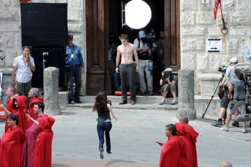 Foto de 'Luna Nueva' rodando en Italia (12/23)