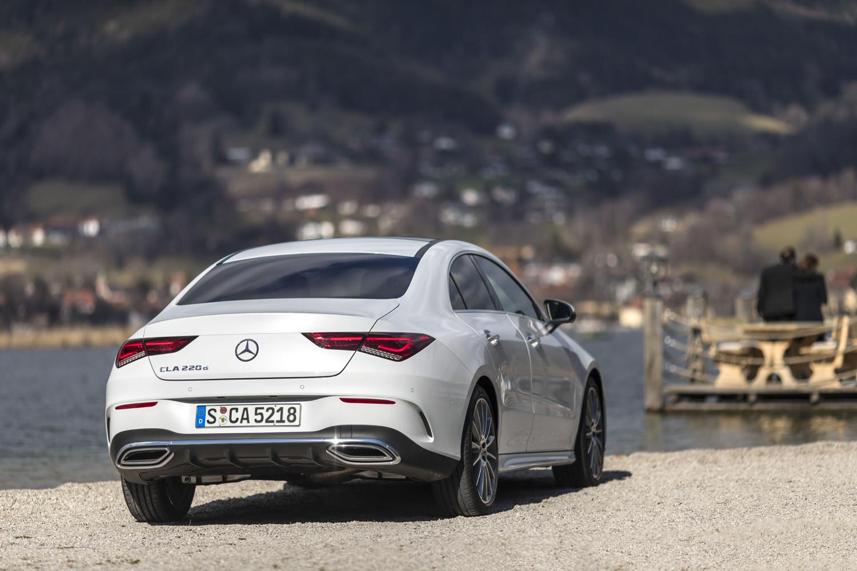 Foto de Mercedes-Benz CLA Coupé 2019, toma de contacto (123/248)