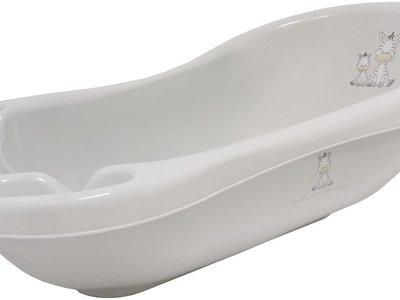 Por 33,02 euros tenemos la  bañera Zebra para bebé de la marca Bieco en Amazon