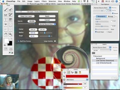 ChocoFlop: Un editor de imágenes y fotos que promete